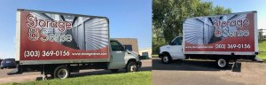 Storage Sense Truck Wrap in Englewood