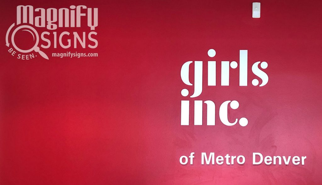 Girls Inc. sign | Magnify Signs