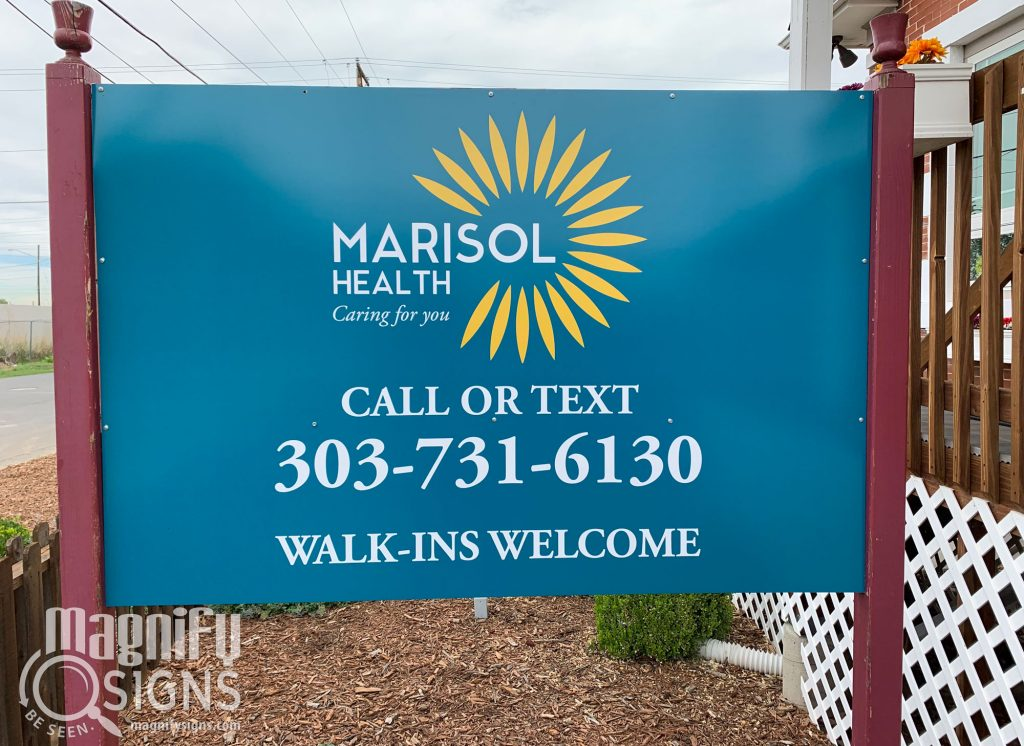 Marisol Health sign | Magnify Signs