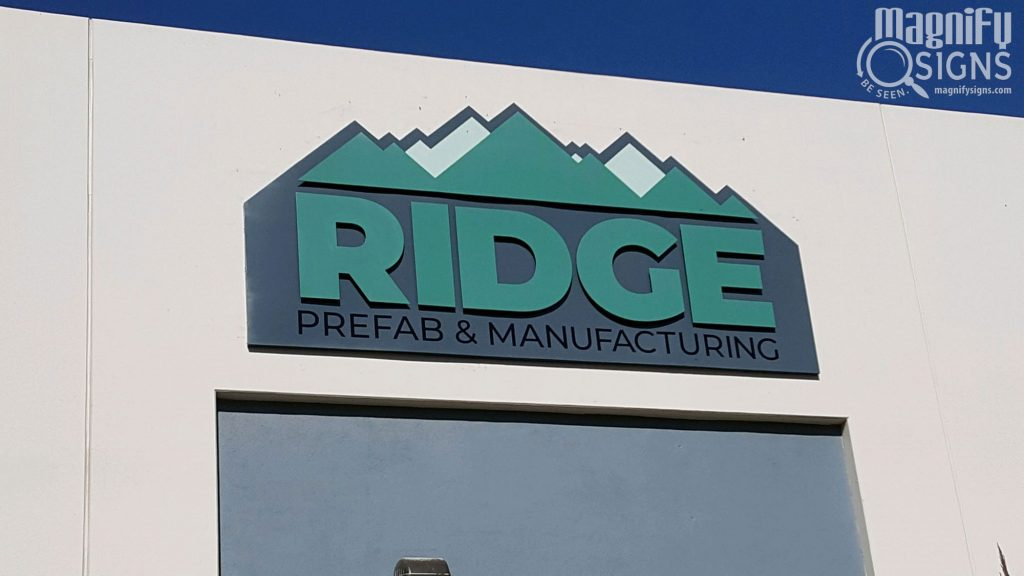 Ridge sign | Magnify Signs