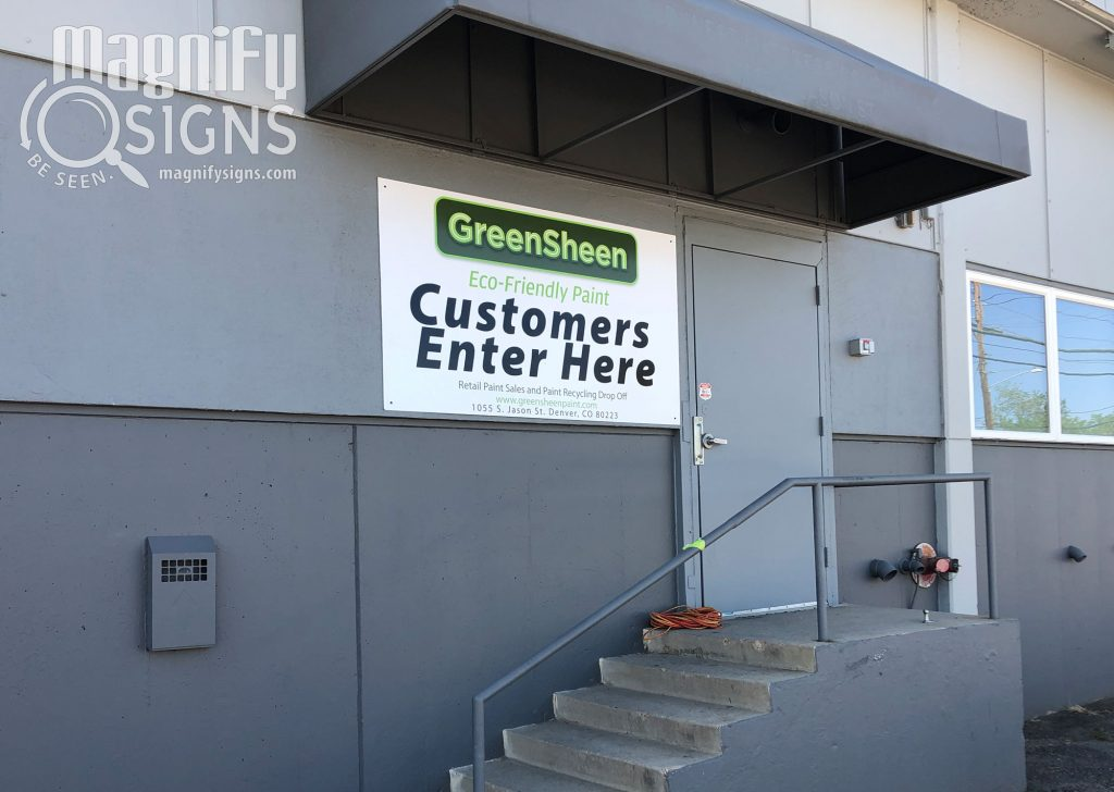 business-branding-signagegeensheen-exterior-sign | Magnify Signs