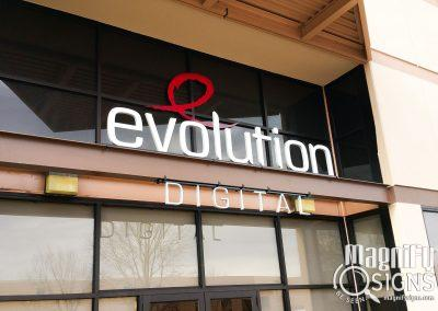 Exterior signage by Magnify Signs. Denver Based Exterior Signage Company.